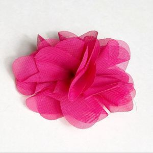 Pink Ornamental Hair Flower